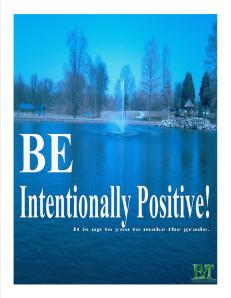 Intentionally Positive