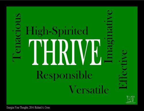 ThriveCharacteristics