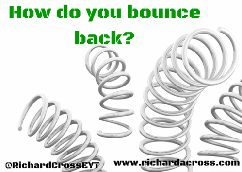 How do you bounce back-