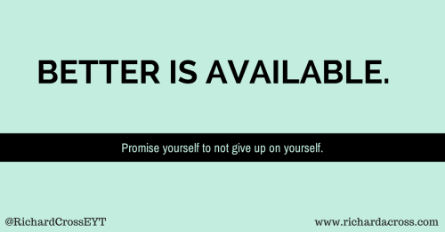 BETTER IS AVAILABLE.