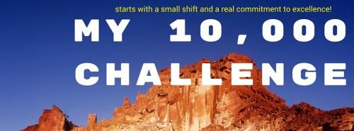 My 10,000 Challenge